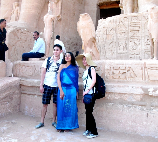 Susan Elsa in Egypt (NOV 2010): Healing Work with Michael for the Planet