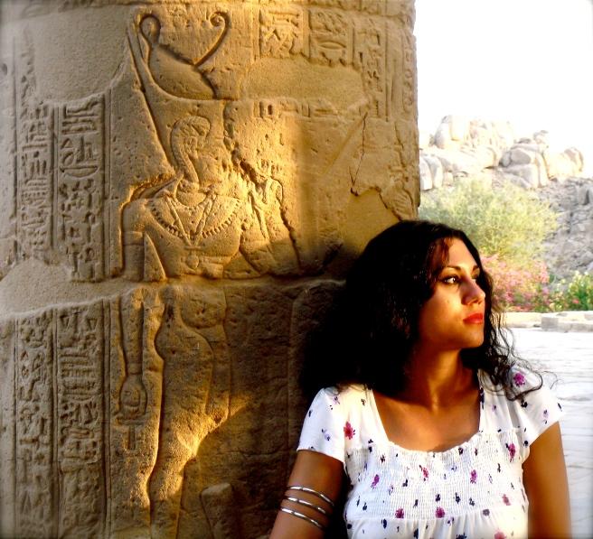 Elsa in Aswan (IsIs Temple)