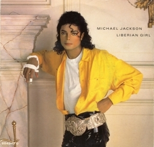 Michael Jackson Liberian Girl Song Cover for BAD Album (late 1980´s)