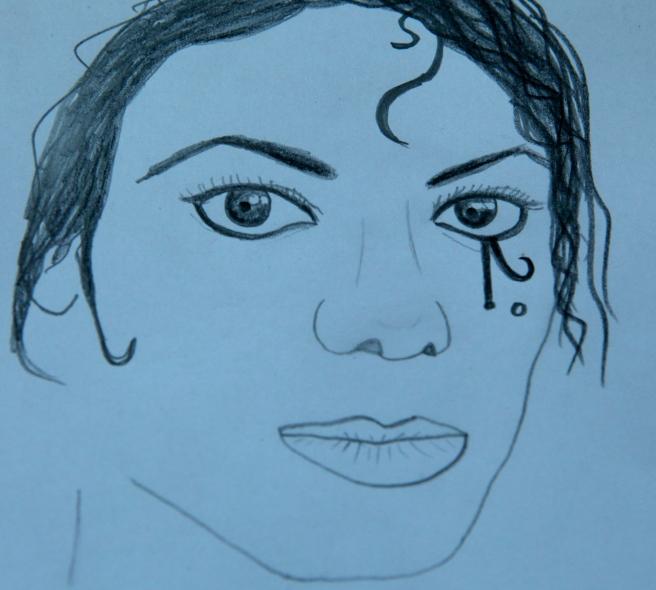 Michael Jackson C.D. Art by Susan Elsa