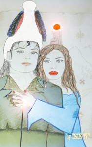 Michael Jackson (Osiris)& Susan Elsa(IsIs): Twin Soul Couple