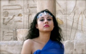 I REMEMBER: Susan Elsa channeling Ancient Egypt Pop Album in a New Modern Genre © Nov 2010 Abu Simbel Temple EGYPT