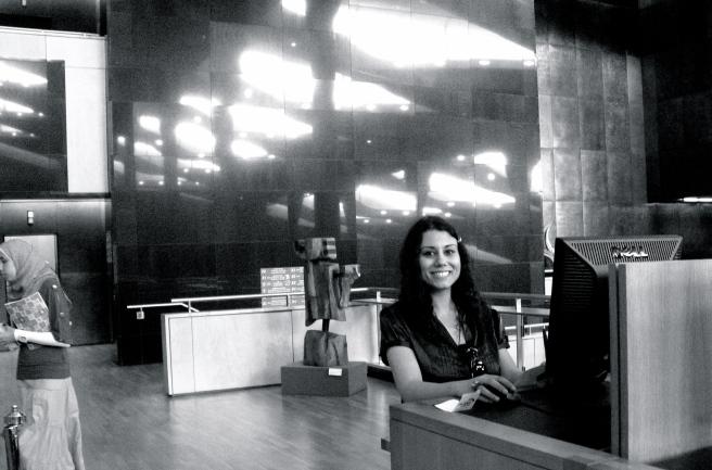 Susan Elsa: Alexandria Library/Egypt  2010
