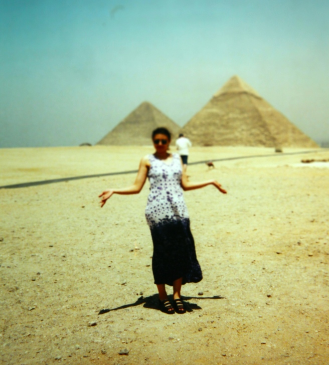 Susan Elsa visits Egypt, her Home Country. (2002)