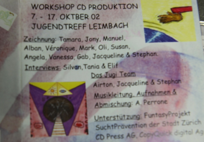 Featured Art Works of all Involved (Youth Project CD 2002)