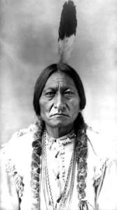 Original Sioux Indian with Feather for Educational Purpose