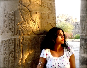 Susan Elsa: Original IsIs Temple Aswan/Egypt 2010