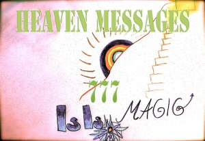 Official Logo for the Channeled Work of Susan Elsa (IsIs Heaven Messages 777)  ©