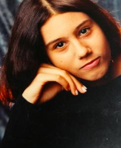 Susan Elsa at Age 12- RIGHT CHEEK MOLE ©
