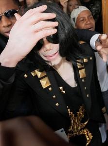 Michael Jackson Hand Form Up Close (Late Michael)