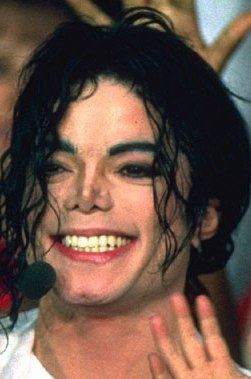 Michael Jackson Cheeky Crinkles when he smiles (Photo: Superbowl, only for Educative &Research Purpose)