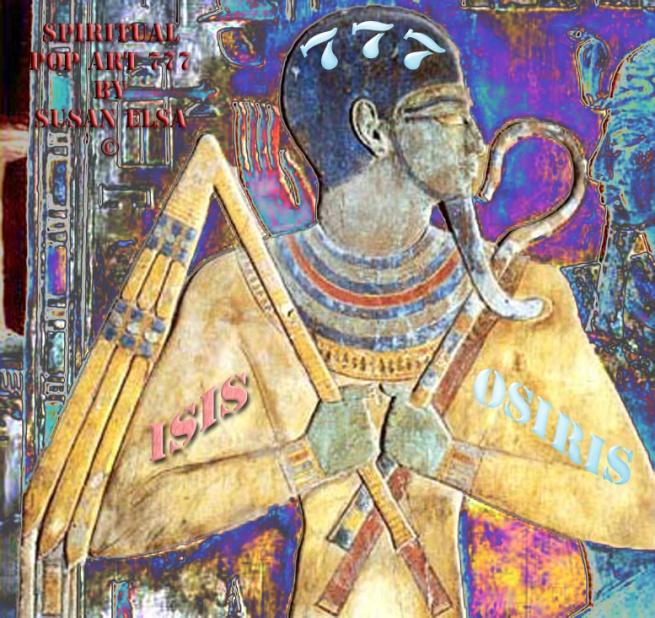 Osiris Power Symbol (Spiritual POP ART 777) ©