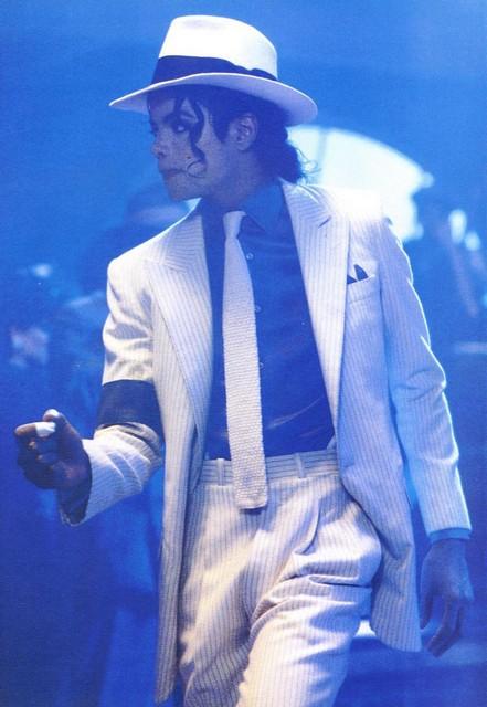 Michael Jackson in his Film MOONWALKER 1987/1988 (Film Shooting)