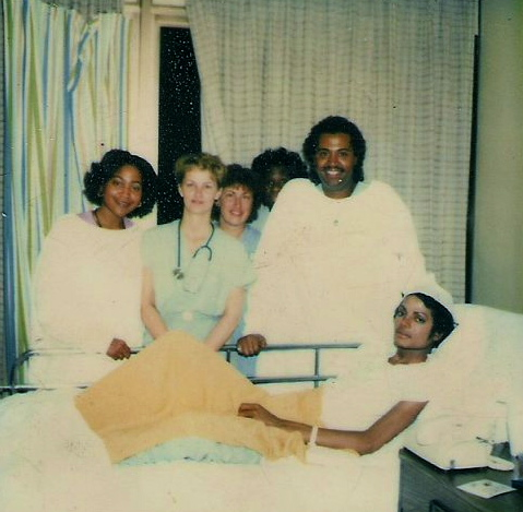 Michael Jackson in the Hospital after Pepsi Accident 1984 PHOTO only for Educational Purpose ©
