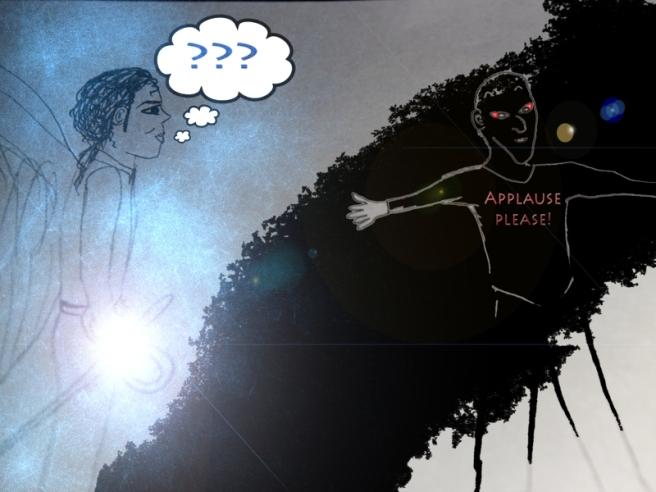 Michael vs. Lucifer (Spiritual Pop Art 777) © www.mystery-garden.com