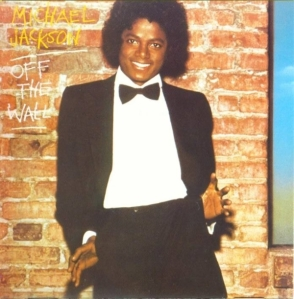 Original Cover Michael Jackson Debut Solo Album: OFF THE WALL (1979) Photo for Educational Purpose only