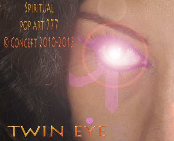 Spiritual Pop Art 777 © TWIN EYE by Mystery Garden