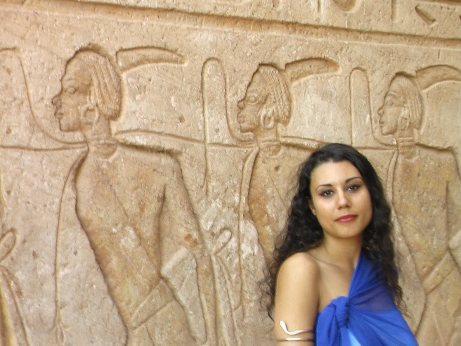 Michael Jackson´s Twin Soul at Original Queen Nefertiti/Nefertari Temple ABU SIMBEL/ EGYPT November 2010 ©