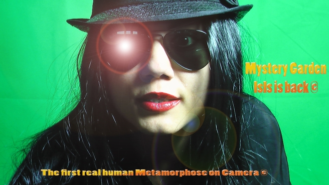 IsIs to Demonstrate on Camera her Magic Skills © Mystery Garden´s Magic Metamorphose Project