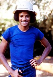 Michael Jackson in the 1970´s: Photo for Educational Purpose and Research only