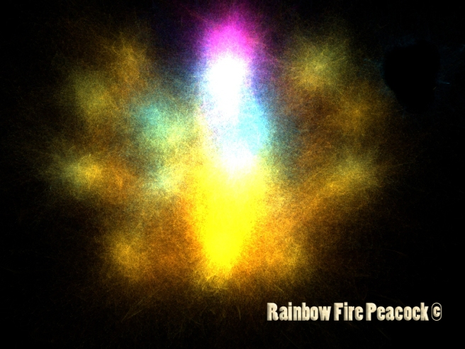 RAINBOW FIRE PEACOCK: Spiritual Protection & Aura Training Method ©