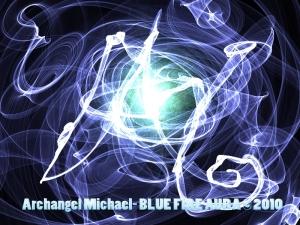 Archangel Michael´s Blue Fire © 2010 www.mystery-garden.com
