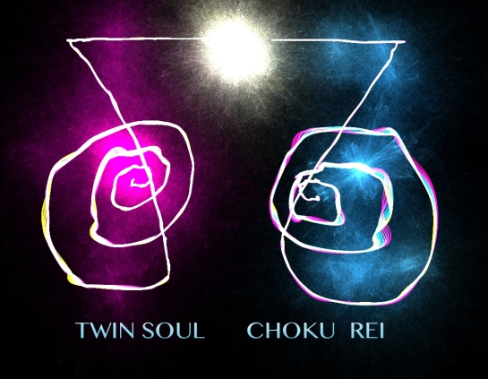 TWIN SOUL CHOKU REI © Strengthening the Female & Male Energies with REIKI