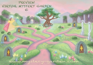 Official Design & Preview of our Virtual MYSTERY GARDEN © 2012