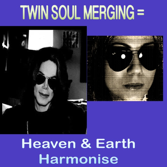 Twin Soul Merging  = Heaven & Earth harmonise...  © (Photo Twin Soul Flame Documentation)