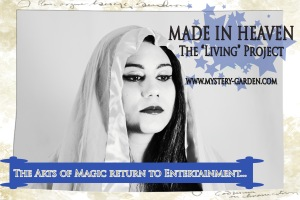 """Official PR Image © MADE IN HEAVEN- The """"Living"""" Project  -COMING SOON"""