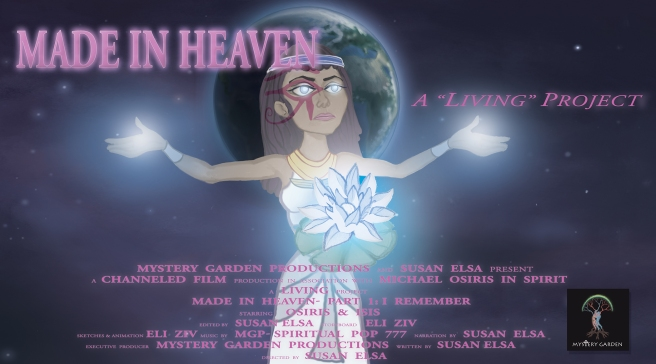 OFFICIAL DVD COVER © MADE IN HEAVEN CARTOON ABOUT Michael Jackson Past Life in Egypt Part I- I REMEMBER
