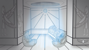 THE BIRTH OF OSIRIS & ISIS- Special Blue Ray/Blue Sun Birth Design by Film Director Susan Elsa Summer 2013 © ORIGINAL