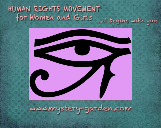 Every Human Being has a MOTHER © Human Rights Movement for WOMEN & GIRLS