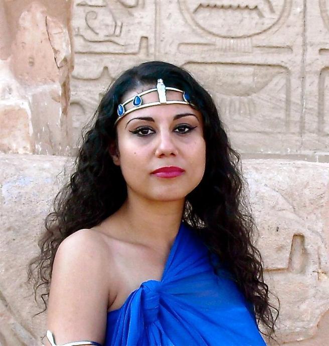 Photo from Official Photo Shoot for Album Cover at Original Nefertiti Temple/ABU SIMBEL © Nov 2010