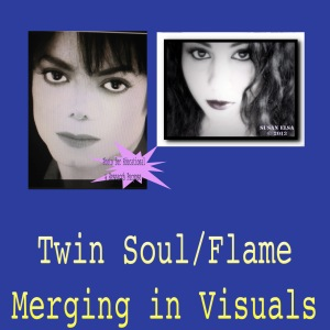 Michael Jackson Twin Soul Merging in Visuals © Documentation
