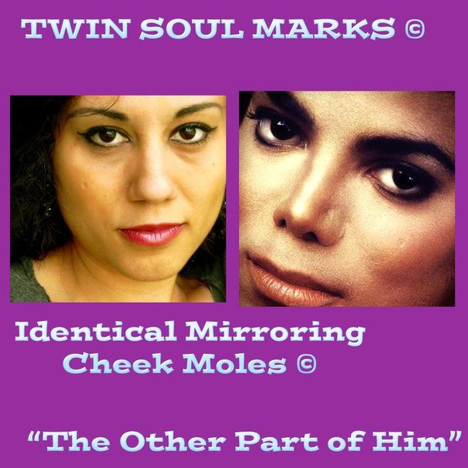 Identical Mirror of Michael Jackson: Susan Elsa (Twin Soul Marks Physical!) ©