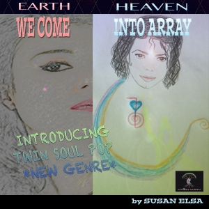 WE COME INTO ARRAY- Official PR Cover introducing TWIN SOUL POP © Release date: April 14th 2014 *Black Moon DEMO*