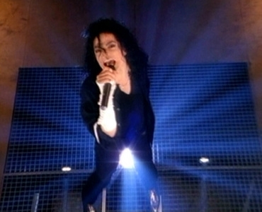 Michael Jackson´s GIVE INTO ME Video- Still Shot for educational & documentary Purpose