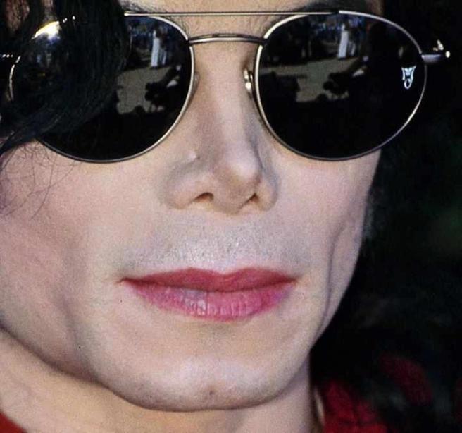 Michael Jackson with Sun Glasses