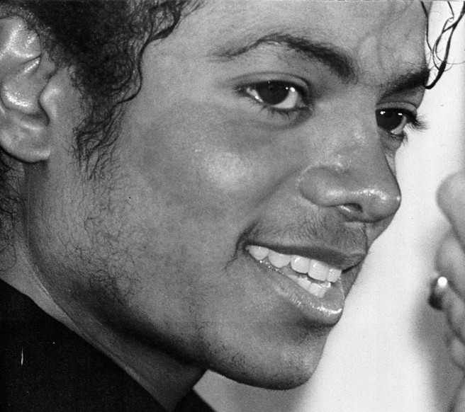 Michael Jackson early 1080´s: Photo for Educational and Documentary Purpose