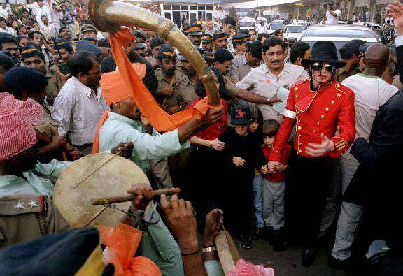 Michael Jackson: Humanitarian & Archangel loved by People