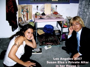 SUSAN ELSA REAL WITCH ALTAR 2007 LOS ANGELES ©