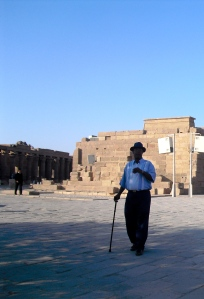 The IsIs Temple (Philae in Aswan) © with my Nubyan Guide Mohammed