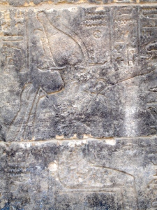 Original Temple: Osiris on Throne with WINGED Crown Hat ©