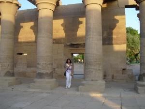 Susan Elsa: Original IsIs Temple Aswan © Nov 2010