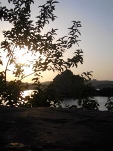 "Susan Elsa´s I REMEMBER: Beautiful Nile View from original IsIs temple named ""Philae"" © Nov 2010"
