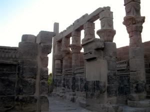 Original IsIs Temple Aswan © Nov 2010 (Much OLDER Original Real Version)