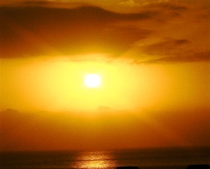 Egyptian Sunset- very magical Lands © Nov 2010
