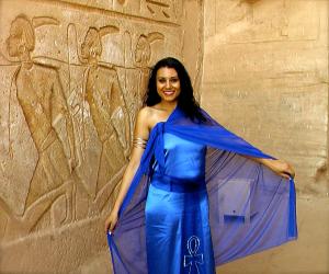 I REMEMBER: Susan Elsa Official Album Cover Shoot at Abu Simbel/Egypt © Nov 2010