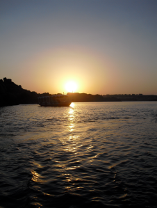 The Nile at Sunset: Magical Vibes ©
